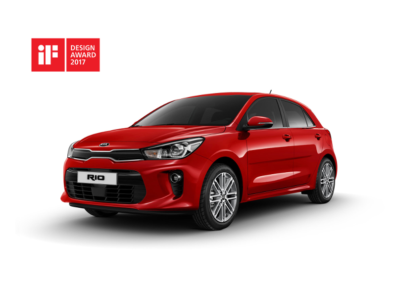 KIA Rio 2017 - iF Design Award